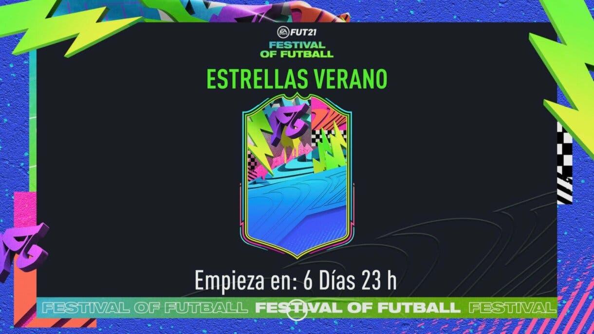 FIFA 21: Un nuevo evento llega a Ultimate Team la próxima semana (Summer Stars) + Belotti Jugador de Nación free to play pantalla de carga