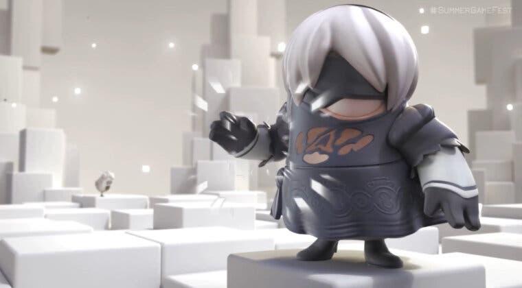 Imagen de 2B de NieR: Automata llega a Fall Guys gracias a su nueva colaboración