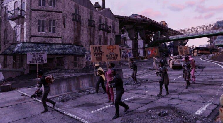 Imagen de Fallout 76 cierra su battle royale y algunos jugadores organizan manifestaciones virtuales