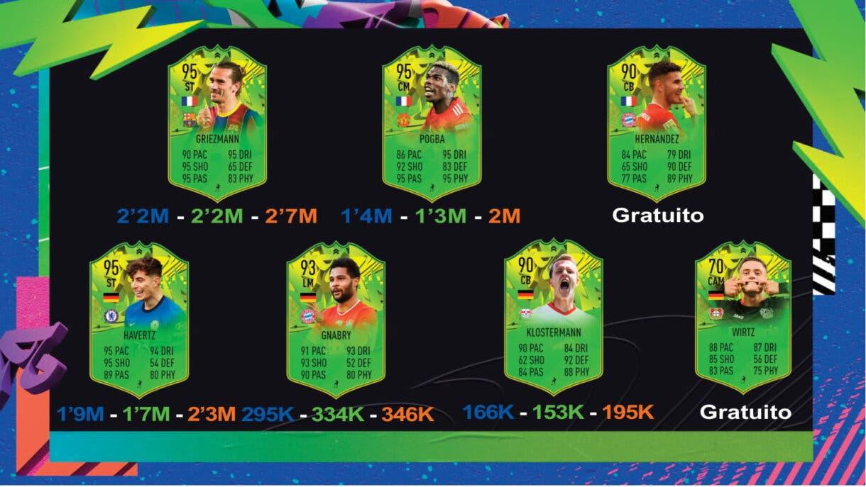 FIFA 21 Ultimate Team guía de seguimiento Festival of FUTball Eurocopa y Copa América parte 3