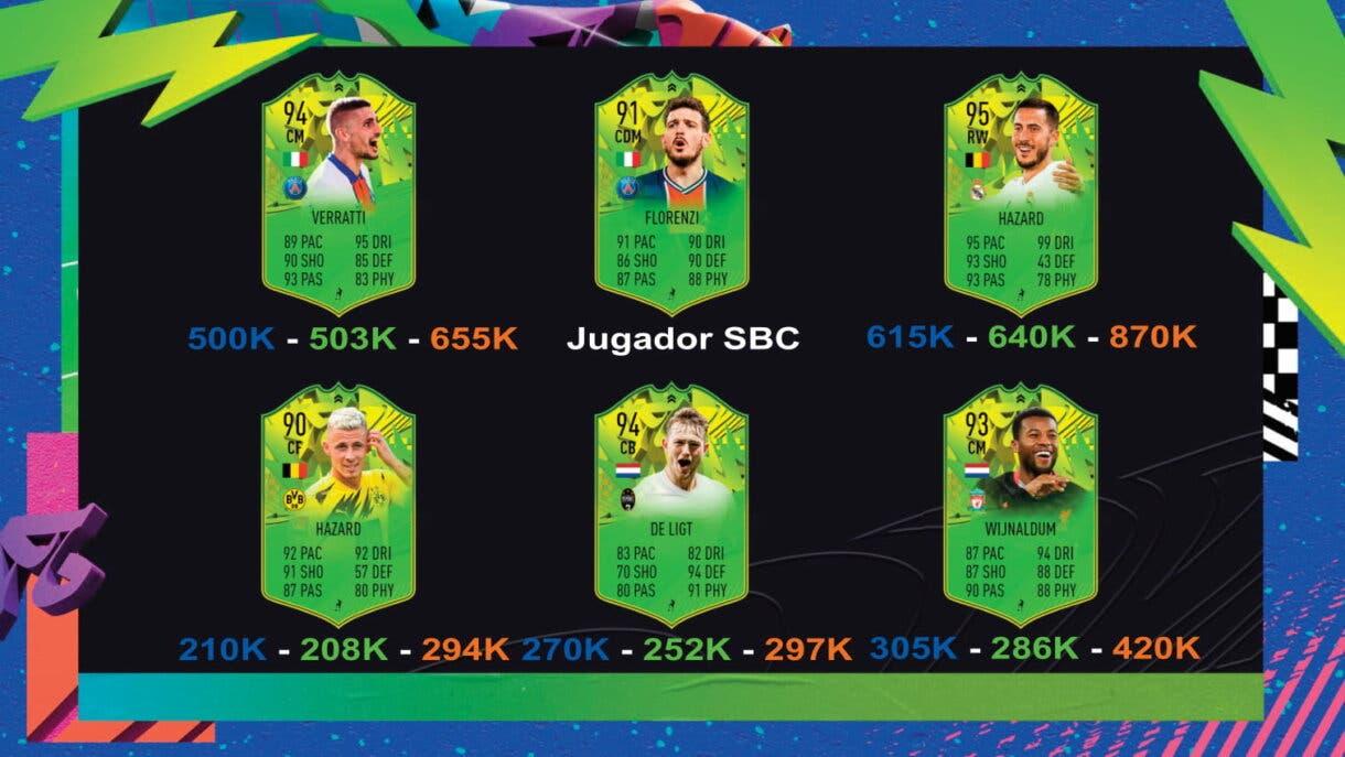 FIFA 21: seguimiento Festival of FUTball (FOF). Nuevos upgrades, jugadores eliminados y cartas que aún pueden mejorar Ultimate Team Eurocopa tres victorias