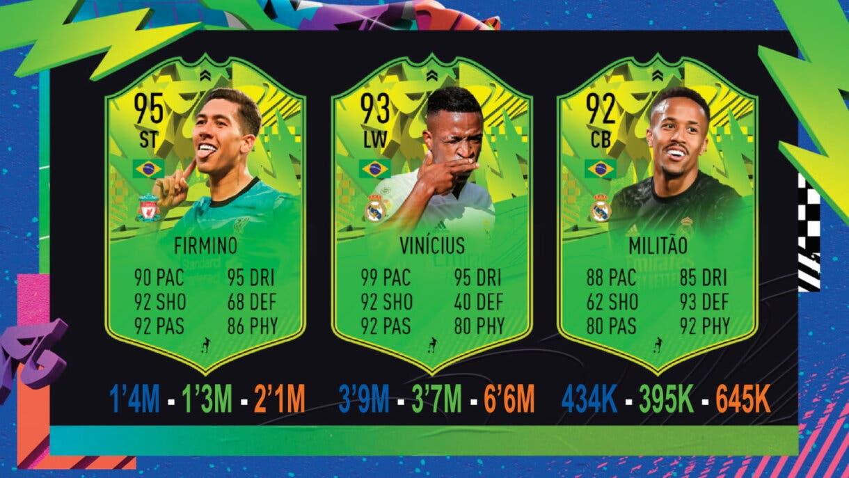 FIFA 21: seguimiento Festival of FUTball (FOF). Nuevos upgrades, jugadores eliminados y cartas que aún pueden mejorar Ultimate Team Copa América tres victorias