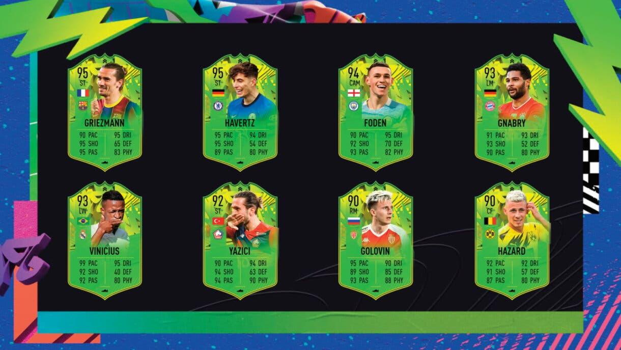 FIFA 21 Ultimate Team Festival of FUTball primer equipo transferible atacantes