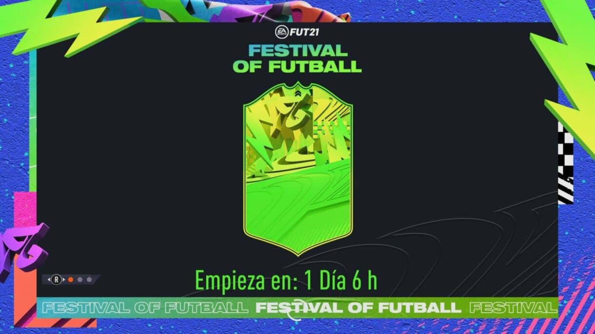 FIFA 21 Ultimate Team Festival of FUTball carta dinámica