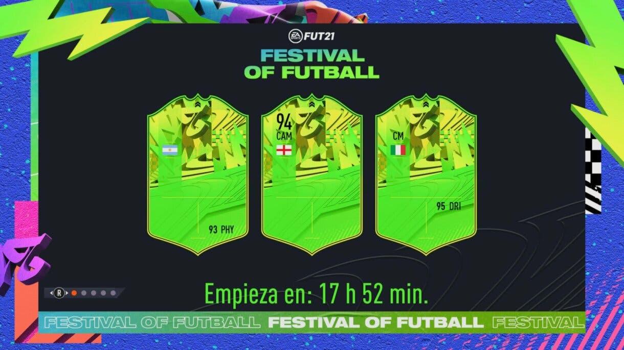 FIFA 21: primeras pistas sobre los integrantes del equipo Festival of FUTball Ultimate Team