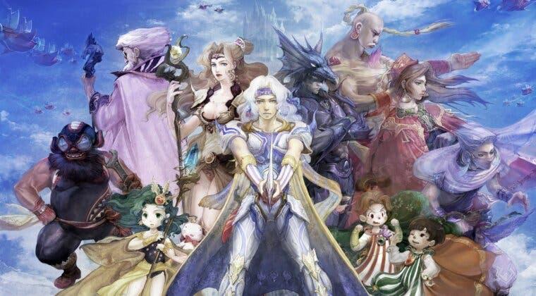 Imagen de Final Fantasy III y IV cambian de nombre súbitamente en móviles e incluyen la etiqueta 3D Remake