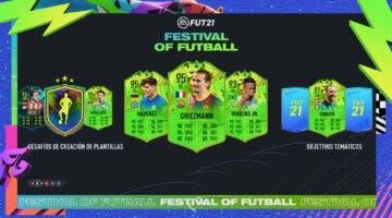 Imagen de FIFA 21: toda la información sobre Festival of FUTball (FOF) + preguntas frecuentes (cuándo mejoran, si aparecerán otros tipos de cartas especiales...)