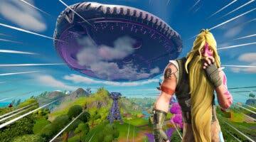 Imagen de Fortnite filtra que la gran nave alienígena destruirá esta conocida parte del mapa