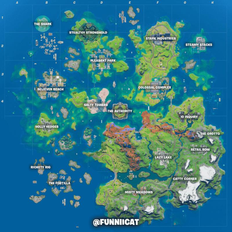 fortnite mapa fan 3