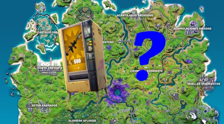 Imagen de Fortnite: dónde encontrar todas las máquinas expendedoras en la Temporada 7