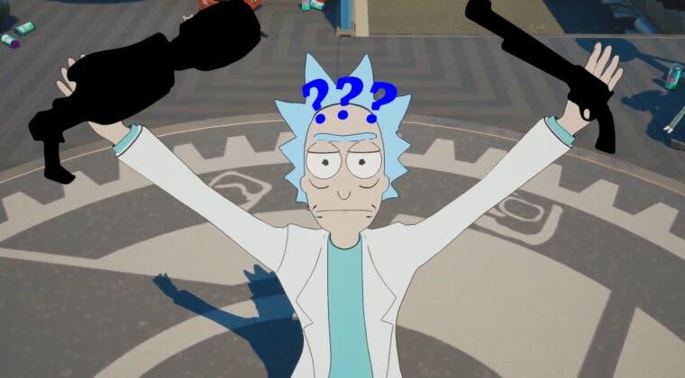 Imagen de Fortnite revela nuevas armas que aún no están disponibles en la Temporada 7, incluyendo una de Rick and Morty