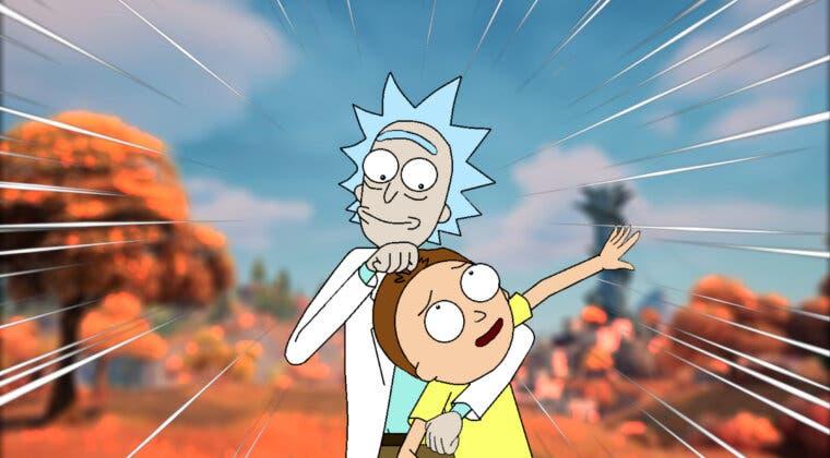 Imagen de Fortnite filtra una nueva colaboración con Rick and Morty a través de una importante pista