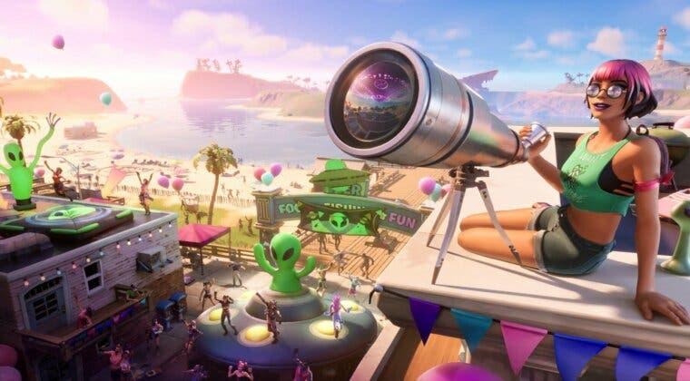 Imagen de Fortnite filtra los desafíos y las recompensas del evento Verano Cósmico de la Temporada 7