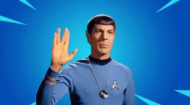 Imagen de Fortnite filtra un posible nuevo crossover con Star Trek para la Temporada 7