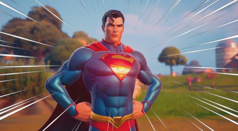 Imagen de Fortnite: una imagen de Superman habría filtrado un nuevo evento y más naves alienígenas para el juego