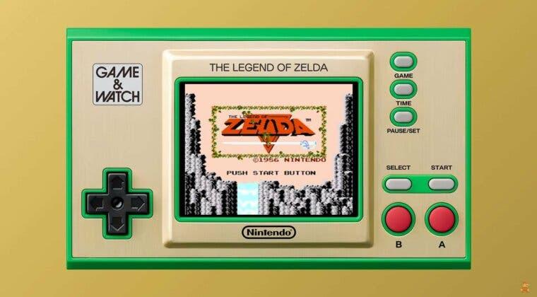 Imagen de Game & Watch The Legend of Zelda llegará este mismo año y no querrás perdértela