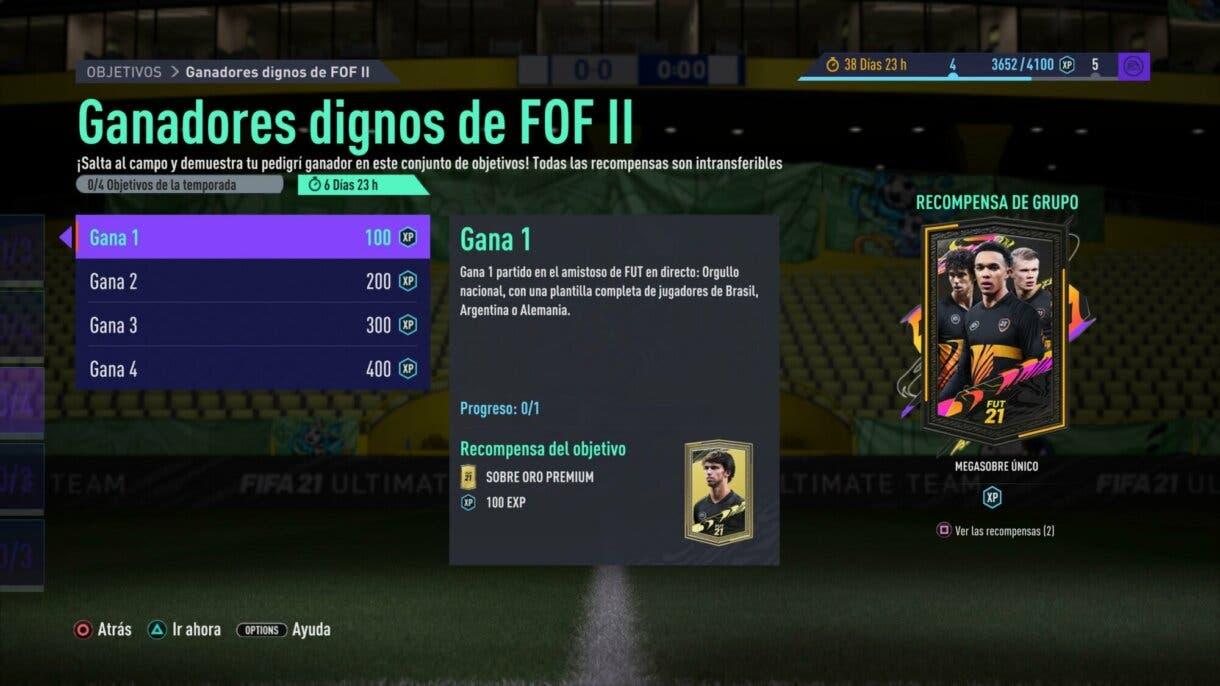 FIFA 21: aparece un nuevo torneo, por tiempo limitado, para conseguir sobres gratuitos Festival of FUTball Ultimate Team