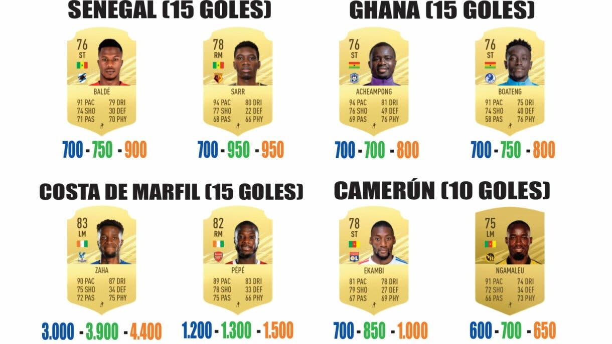 FIFA 21 Ultimate Team guía para conseguir los sobres de Américas y África parte 3