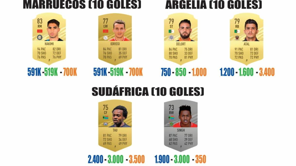 FIFA 21 Ultimate Team guía para conseguir los sobres de Américas y África parte 4