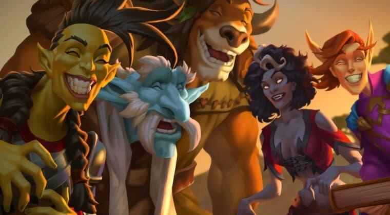Imagen de Hearthstone ha recibido un nuevo miniset, dos héroes para Campos de batalla y más nerfs
