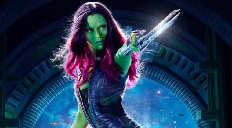 Imagen de Guardianes de la Galaxia: Gamora estuvo a punto de ser muy diferente
