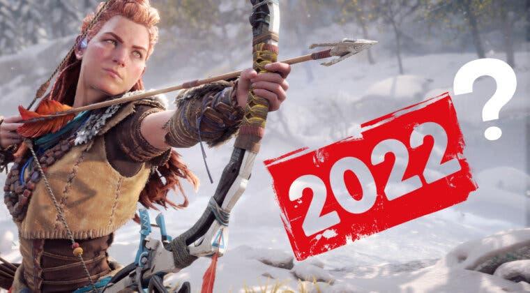 Imagen de Horizon Forbidden West podría retrasarse a 2022, según la propia PlayStation