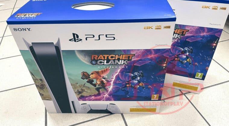 Imagen de Filtrado un pack de Ratchet & Clank: Una Dimensión Aparte con PS5; primeras imágenes