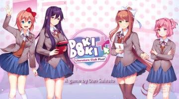 Imagen de Doki Doki Literature Club Plus es anunciado para revivir uno de los fenómenos de las novelas visuales