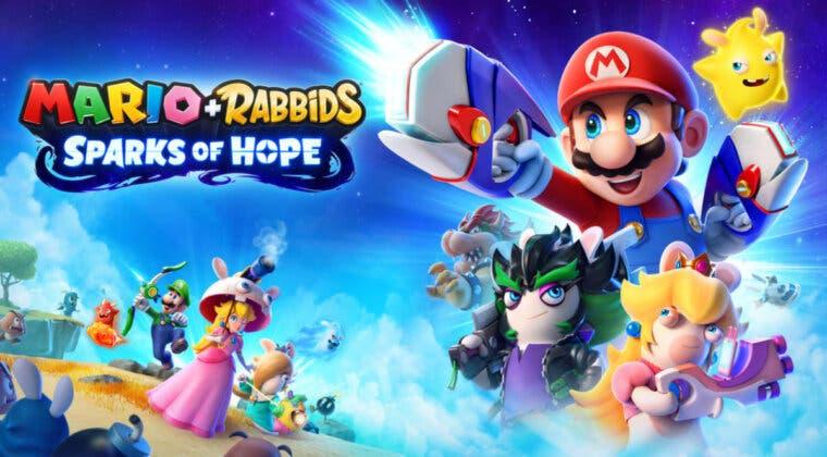 Imagen de Mario + Rabbids Sparks of Hope se filtra en la web de Nintendo; primeros detalles e imágenes