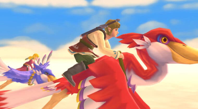 Imagen de Aquí tienes casi 5 nuevos minutos de tráiler de The Legend of Zelda: Skyward Sword HD