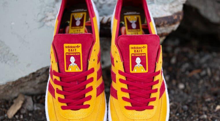 Imagen de Estas nuevas zapatillas Adidas de One Punch Man son increíbles, pero muy difíciles de comprar