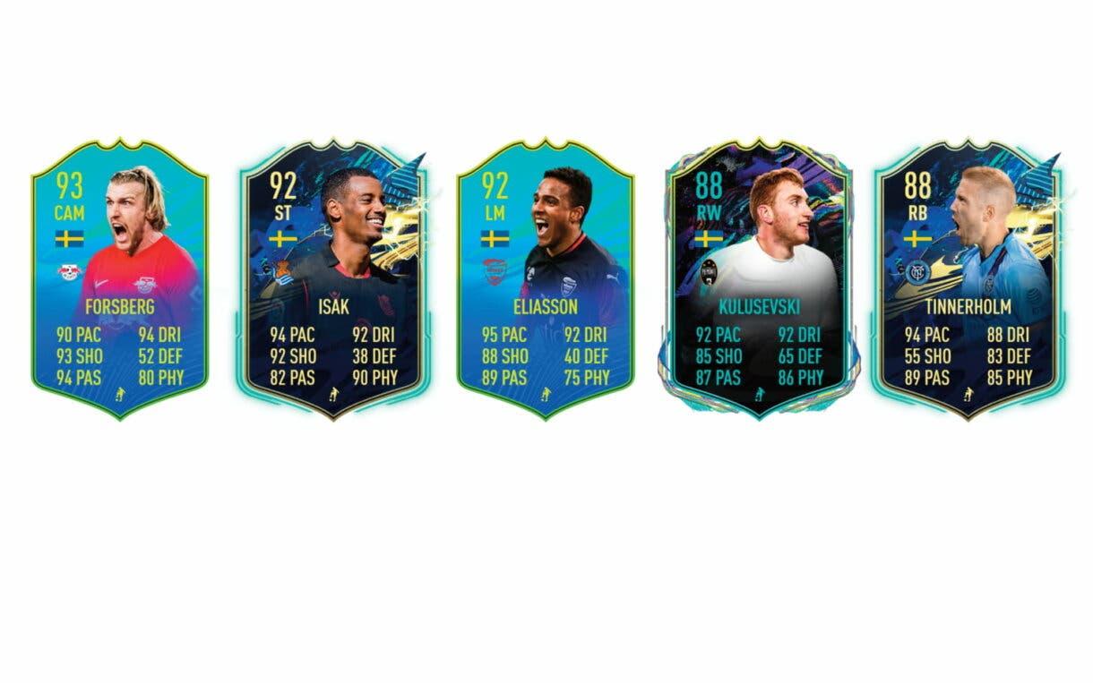 FIFA 21 Ultimate Team. Lindelöf Jugador de Nación links naranjas