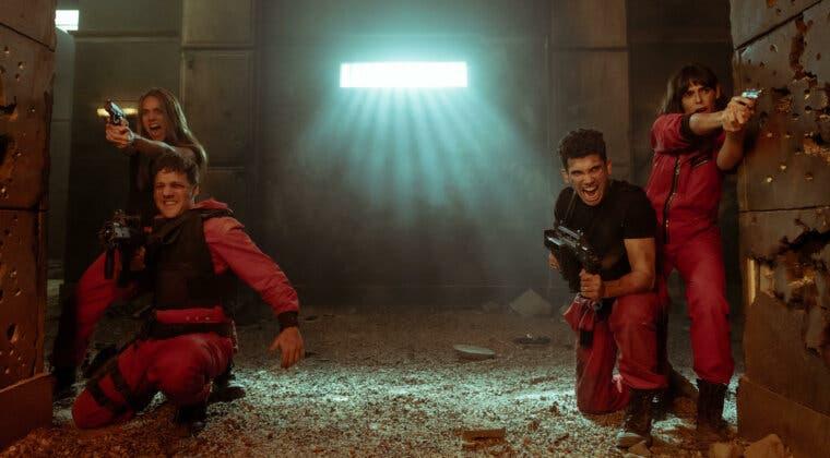 Imagen de Netflix desvela las primeras y espectaculares imágenes de la temporada 5 de La Casa de Papel