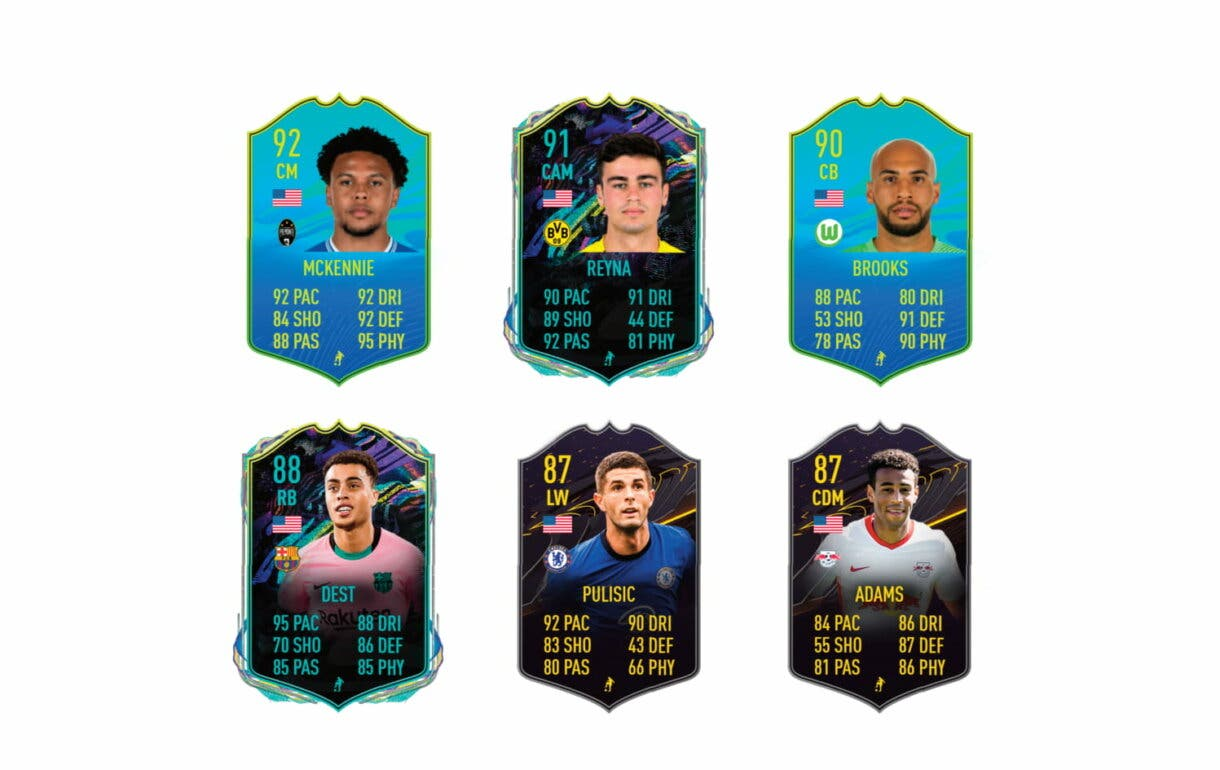 Enlaces naranjas de Altidore Player of the Nation.  FIFA 21 Ultimate Team