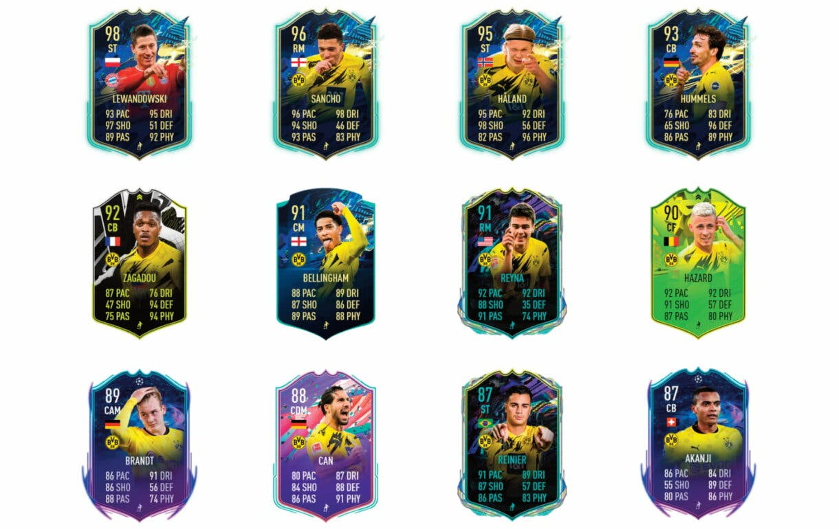 Links verdes de Piszczek Fin de Una Era. FIFA 21 Ultimate Team