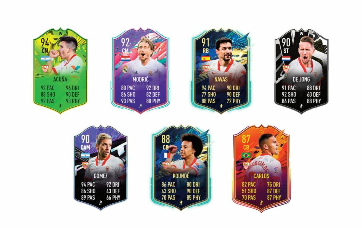 Links verdes de Rakitic Flashback. FIFA 21 Ultimate Team