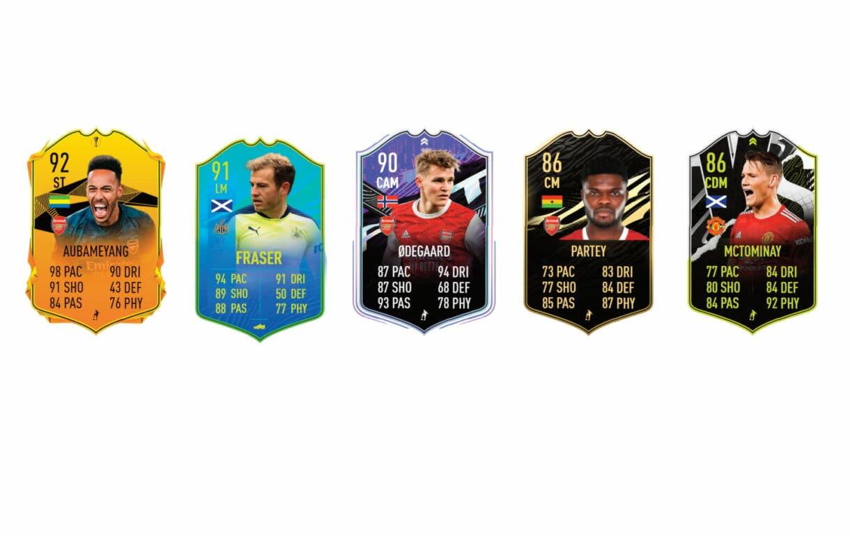 Links verdes de Tierney Jugador de Nación. FIFA 21 Ultimate Team