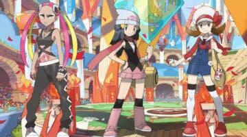 Imagen de Pokémon Masters EX junta a Lira, Maya y Francine en un mismo reclutamiento