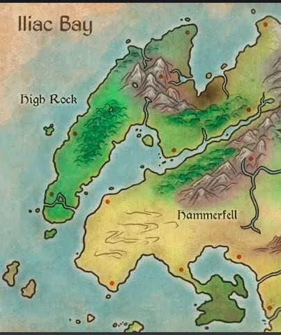 mapa the elder scrolls