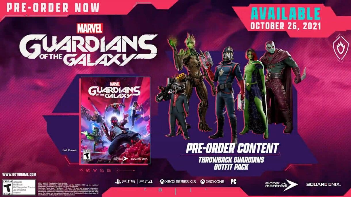 marvels guardians of the galaxy 2