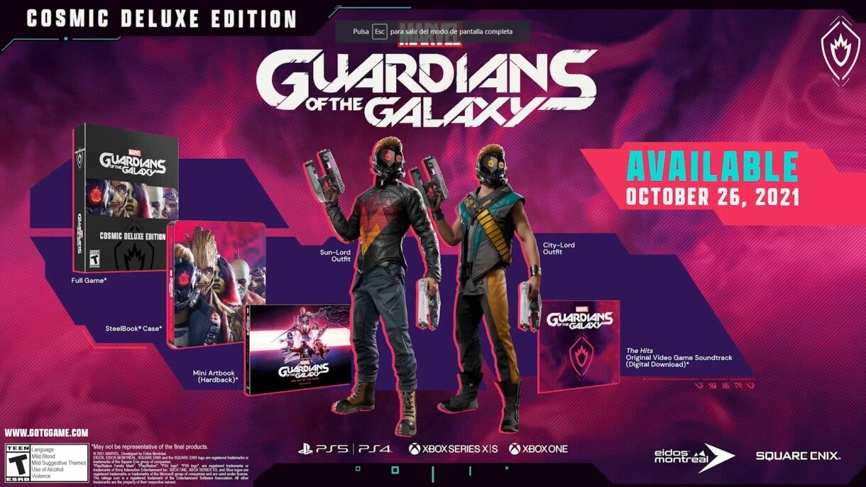 marvels guardians of the galaxy 3
