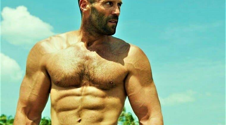 Imagen de El truco de Jason Statham para ganar músculo rápidamente a sus 53 años de edad