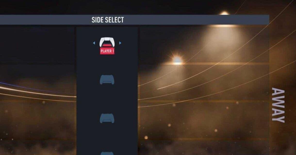 FIFA 22 filtración menú de la beta mando