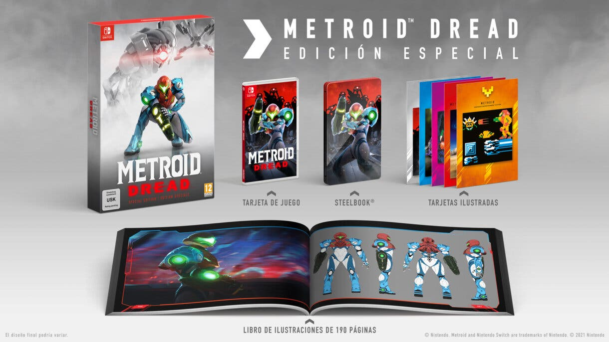 Metroid Dread Edicion Coleccionista