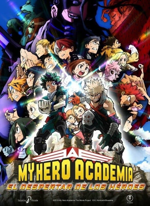 My Hero Academia el despertar de los heroes