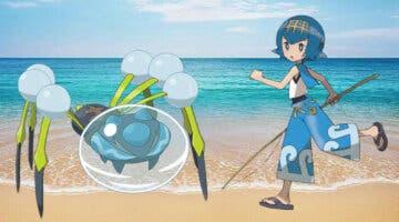 Imagen de Pokémon Masters EX: Así es la pareja de compis formada por Nereida y Araquanid