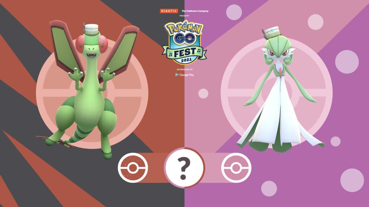 Pokemon GO Fest 2021 Gardevoir Flygon