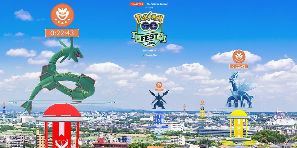 Pokemon GO Fest 2021 incursiones