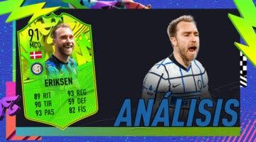 Imagen de FIFA 21: análisis de Christian Eriksen Festival of FUTball (FOF), la carta gratuita de esta semana