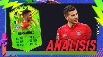 Imagen de FIFA 21: análisis de Lucas Hernández Festival of FUTball gratuito (FOF). ¿Uno de los mejores centrales en Francia?